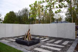 Beton architektoniczny w ogrodzie