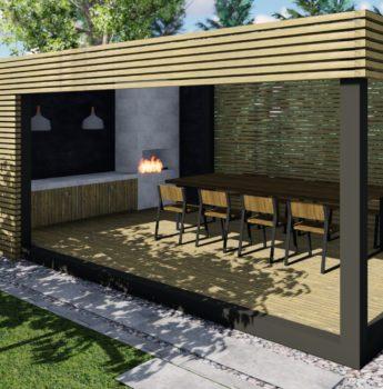 Projekt i realizacja modernizacji ogrodu